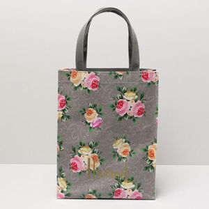 Medium Size Floral Patterns Canvas Shopping Bag (H036-22) pictures & photos
