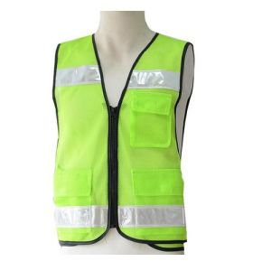 High Visibility Warning Safety Mesh Vest with Reflectors pictures & photos