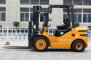 3.0Ton Diesel Forklift Truck with Chinese Engine (HH30Z-N1-D, Huahe Brand) pictures & photos