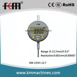 0-12.7mm/0-0.5′′ High Accuracy Digital Micron Dial Indicators with 0.001mm/0.00005′′ Resolution pictures & photos