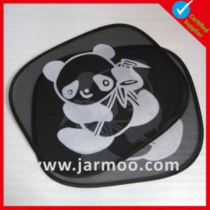 Colorful Silver Coated Fabric Car Window Sunshade pictures & photos