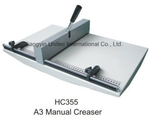 Simple Innovative Products Platen Die Cutting and Paper Creasing Machine Hc355 pictures & photos