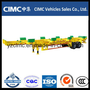 Cimc 40FT 2 Axle 65ton Port Container Terminal Semi Trailer pictures & photos