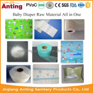 Baby Diaper Raw Materials All in One pictures & photos
