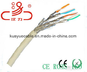 LAN Cable CAT6A, 500 MHz, UTP, 23AWG, Solid Bare Copper, /Data Cable/Communication Cable/Connector pictures & photos