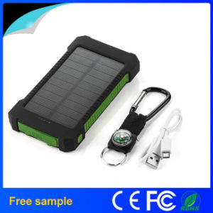 Waterproof Shockproof Dustproof Mobile 8000mAh Solar Charger