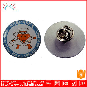 Metal Custom Pin Badge with Printing and Epoxy pictures & photos