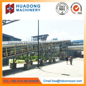 Large-Capacity Curved Tubular Belt Conveyor for Powdery Material pictures & photos