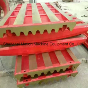 PE250X400 Jaw Plate for Jaw Crusher pictures & photos