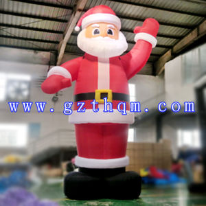 6m Inflatable Christmas Santa Claus/Inflatable Christmas Decoration pictures & photos