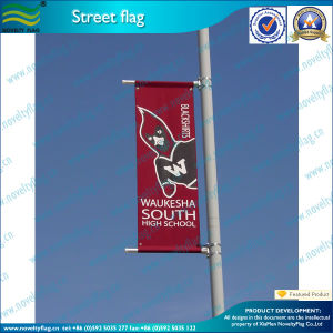 "Wall Mounted Pole Banner Bracket 18"" Hardware Only for Street Banner Prints pictures & photos"