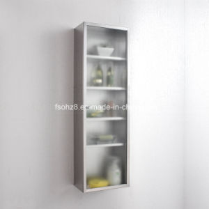 Unique Modern Simply Stainless Steel Kitchen Cabinet 7043 pictures & photos