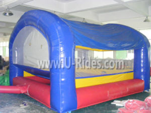 Wholesale price inflatable sport games baseball shooter inflatable baseball arena for carnival pictures & photos