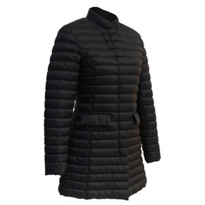 Women Ultralight Black Goose Down Feather Jacket pictures & photos
