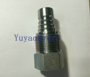 Machine Part Hydraulic Adapter Fitting with Female Straight pictures & photos
