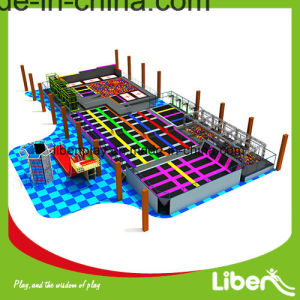 Hot Sale Indoor Professtional Large Trampoline Park with Foam Pit pictures & photos
