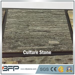 Green Staggered Ledge Culture Stone with Culture Stone Corner for Wall Panel pictures & photos