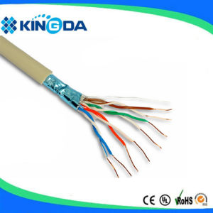 Indoor FTP Cat5e Cable CCA Cu LAN Cable pictures & photos