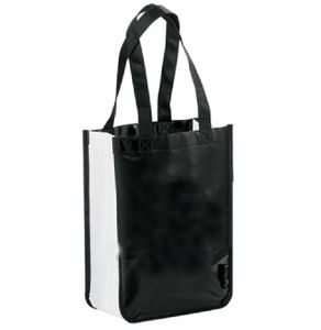 Laminated Non-Woven Shopper Tote Bag for Shopping Promotion and Gift Use pictures & photos