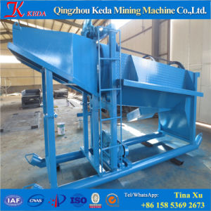 Good Feedback Portable Gold Trommel with Gold Sluice Box pictures & photos