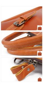 Genuine Leather Briefcase Bag Fashion Designer Man Handbags (RS-6013) pictures & photos