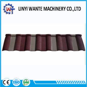 Customized Color Stone Coated Metal Milano Roof Tile pictures & photos