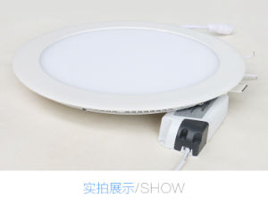 Ultrathin LED Spot Light/Meeting Room/Show Room/Bedroom Light 3W LED Panel Light pictures & photos