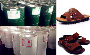 Two-Component PU Chemical for Sandal, Slipper or Sports Shoe Sole P-5005/I-5002 pictures & photos