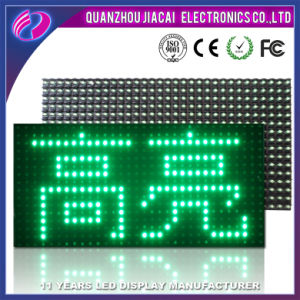 Green Color P10-1g Outdoor LED Display Module pictures & photos