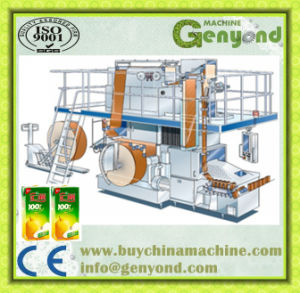 Paper Carton Brick Pack Aseptic Filling Machine pictures & photos
