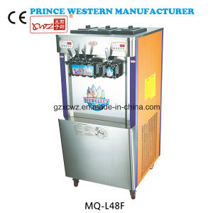 Manufacture Commercial New Color Painting Precooling 4 Flavors Italian Soft Ice Cream Machine and Yogurt Machine with Good Price pictures & photos