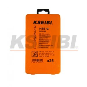 High Quality Kseibi HSS-G (M2) Iron Box Drill Bit Set pictures & photos