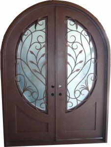 Thermally Broken Iron Doors pictures & photos