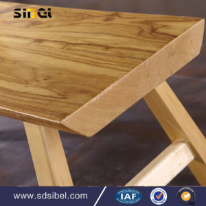 European Style Wood Restaurant Cafe Chair pictures & photos