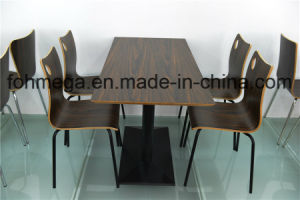 Modern Hotel Restaurant Dining Furniture Wooden Dining Table (FOH-CXSC67) pictures & photos