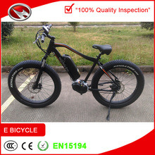 MID Drive Power Bicycles Beach Cruiser Bikes Big Kids Bikes with Very Big Fat Tyre pictures & photos