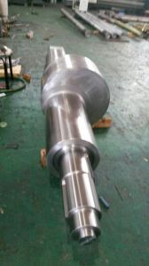 Forging Carbon Steel Flange Shaft 1045 pictures & photos