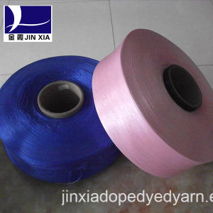 FDY Dope Dyed 200d/144f Filament Polyester Yarn pictures & photos