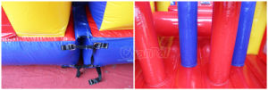 Double Lane Inflatable Obstacle Course for Sport Games (CHOB210-1) pictures & photos