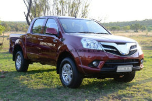 Hot Sale Luxury Hilux Vigos Type Pick-up Car 4*4 with Cummins Isf2.8 pictures & photos