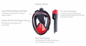180 View Diving Mask Snorkel Swimming Mask and Snorkel Set pictures & photos