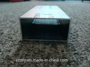 Anodised Silver Aluminum Rectangular Tube Regular Sizes Available pictures & photos