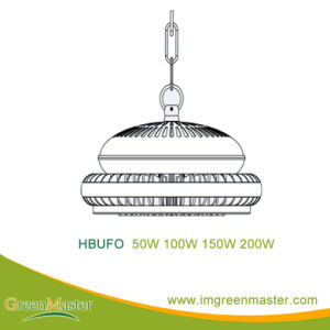 UFO 50W 100W 150W 200W Factory Warehouse LED High Bay Light pictures & photos