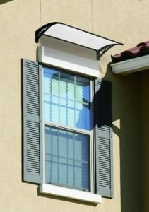 Wholesale Durable Outdoor Polycarbonate Window and Door Awning (800-B) pictures & photos