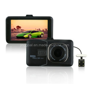 Fh06h Dual Lens 1080P 3.0 Inch Screen Car DVR Blackbox Camera pictures & photos