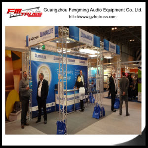 Indoor Lighting Exhibition Booth Truss Design 3X3X3m Size Optional pictures & photos