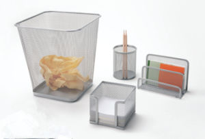 Office Supply Set/ Metal Mesh Stationery Office Set/ Office Desk Accessories pictures & photos