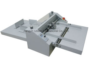 Automatic Paper Feeder Creasing and Perforating Machine CPC480A pictures & photos