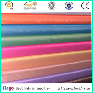 100% Polyester Bags Lining Garment Used Pd 190t Taffeta Fabric pictures & photos