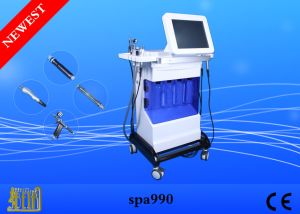 Hydro Peeling Skin Rejuvanation Dermabrasion System /Water Oxygen Jet Peeling Beauty Machine pictures & photos